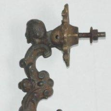 Antigüedades: ANTIGUO LLAMADOR - ALDABA HIERRO SIGLO XIX. Lote 53284105