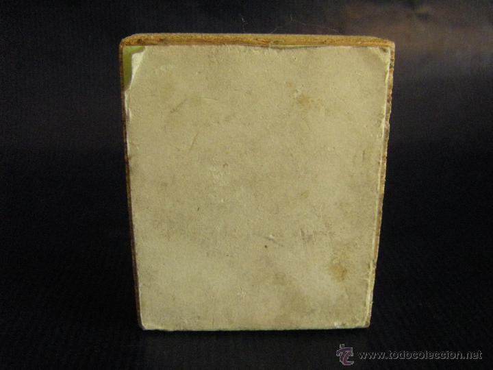 Antigüedades: Taco o sello de imprenta escudo de Paterna Valencia mitad siglo XX - Foto 6 - 53284178