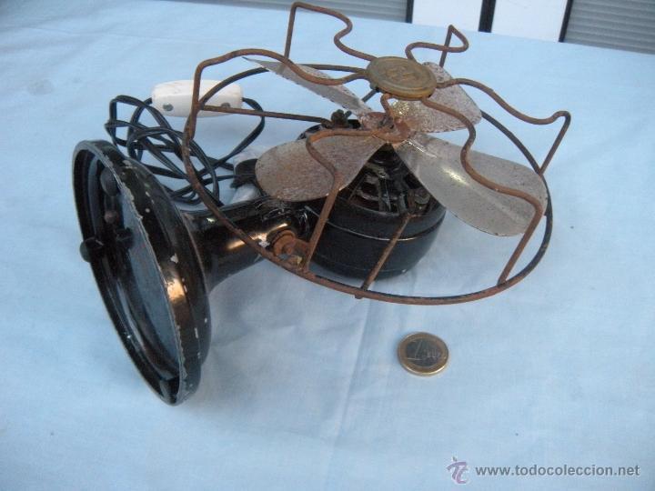 Antigüedades: PEQUEÑO VENTILADOR NUMAX - Foto 5 - 53308024