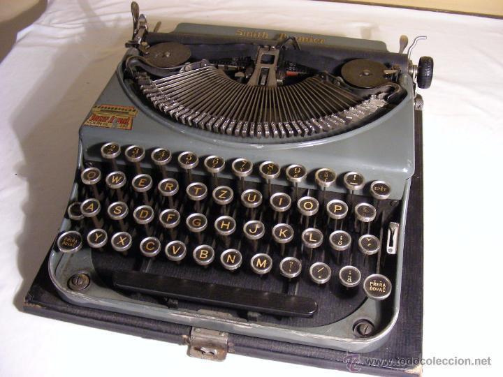 SMITH PREMIER DE 1935 (Antigüedades - Técnicas - Máquinas de Escribir Antiguas - Smith)