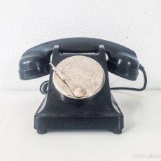 Teléfonos: CURIOSO TELÉFONO DE CENTRALITA EN COLOR NEGRO Y AURICULAR EXTRA. Lote 53368053