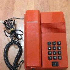 Teléfonos: TELÉFONO ALCATEL TEIDE ROJO. Lote 53389806
