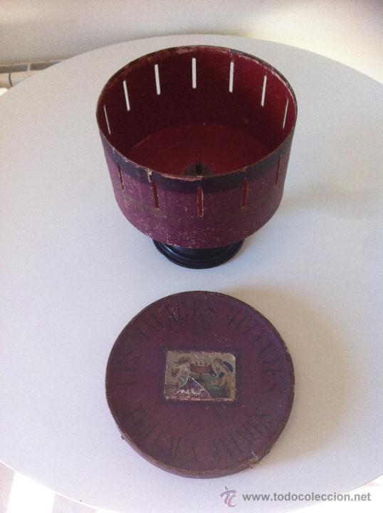 Antigüedades: ZOOTROPO – ZOETROPE - LES IMAGES VIVANTES TABLEAUX ANIMES - PARIS SEGUNDA MITAD SIGLO XIX - Foto 4 - 53390063