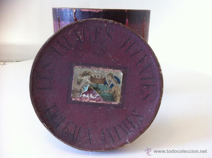 Antigüedades: ZOOTROPO – ZOETROPE - LES IMAGES VIVANTES TABLEAUX ANIMES - PARIS SEGUNDA MITAD SIGLO XIX - Foto 6 - 53390063