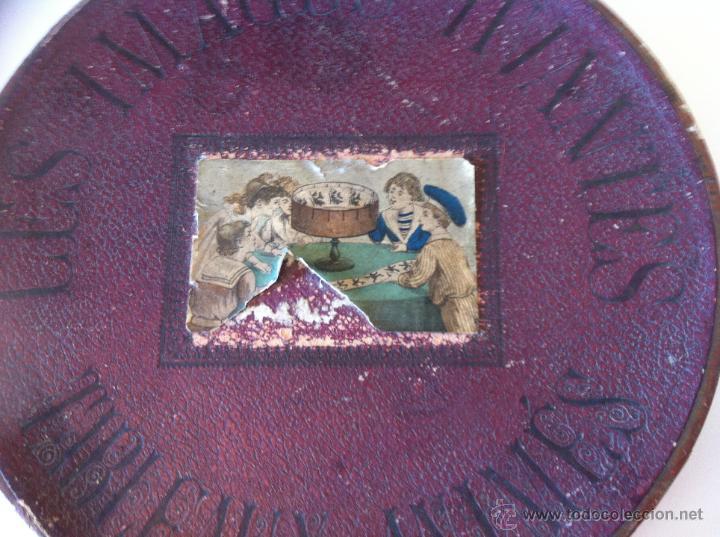 Antigüedades: ZOOTROPO – ZOETROPE - LES IMAGES VIVANTES TABLEAUX ANIMES - PARIS SEGUNDA MITAD SIGLO XIX - Foto 7 - 53390063