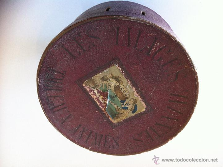 Antigüedades: ZOOTROPO – ZOETROPE - LES IMAGES VIVANTES TABLEAUX ANIMES - PARIS SEGUNDA MITAD SIGLO XIX - Foto 9 - 53390063