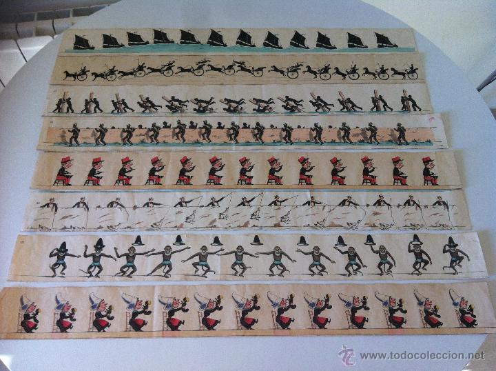 Antigüedades: ZOOTROPO – ZOETROPE - LES IMAGES VIVANTES TABLEAUX ANIMES - PARIS SEGUNDA MITAD SIGLO XIX - Foto 17 - 53390063
