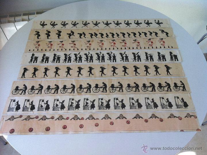 Antigüedades: ZOOTROPO – ZOETROPE - LES IMAGES VIVANTES TABLEAUX ANIMES - PARIS SEGUNDA MITAD SIGLO XIX - Foto 18 - 53390063