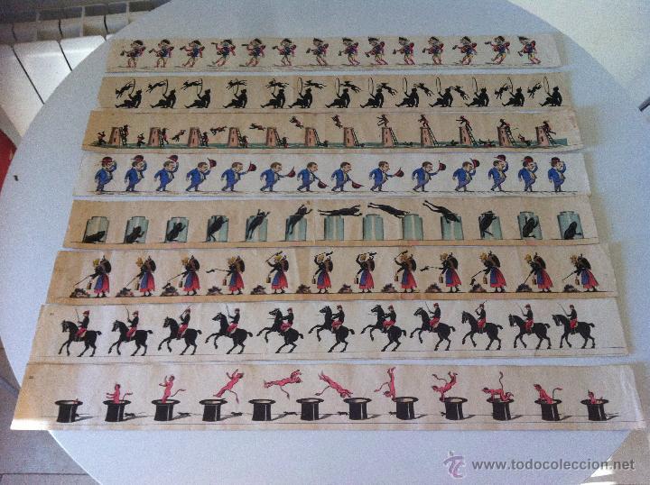 Antigüedades: ZOOTROPO – ZOETROPE - LES IMAGES VIVANTES TABLEAUX ANIMES - PARIS SEGUNDA MITAD SIGLO XIX - Foto 19 - 53390063