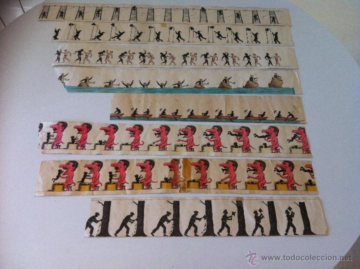 Antigüedades: ZOOTROPO – ZOETROPE - LES IMAGES VIVANTES TABLEAUX ANIMES - PARIS SEGUNDA MITAD SIGLO XIX - Foto 29 - 53390063