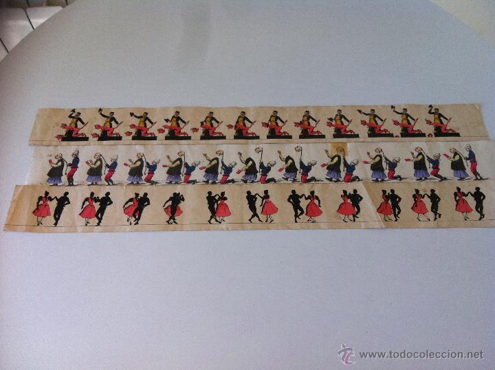 Antigüedades: ZOOTROPO – ZOETROPE - LES IMAGES VIVANTES TABLEAUX ANIMES - PARIS SEGUNDA MITAD SIGLO XIX - Foto 32 - 53390063