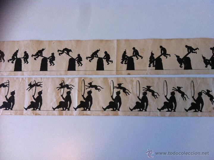 Antigüedades: ZOOTROPO – ZOETROPE - LES IMAGES VIVANTES TABLEAUX ANIMES - PARIS SEGUNDA MITAD SIGLO XIX - Foto 35 - 53390063