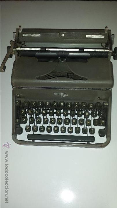HERMES 2000 (Antigüedades - Técnicas - Máquinas de Escribir Antiguas - Hermes)