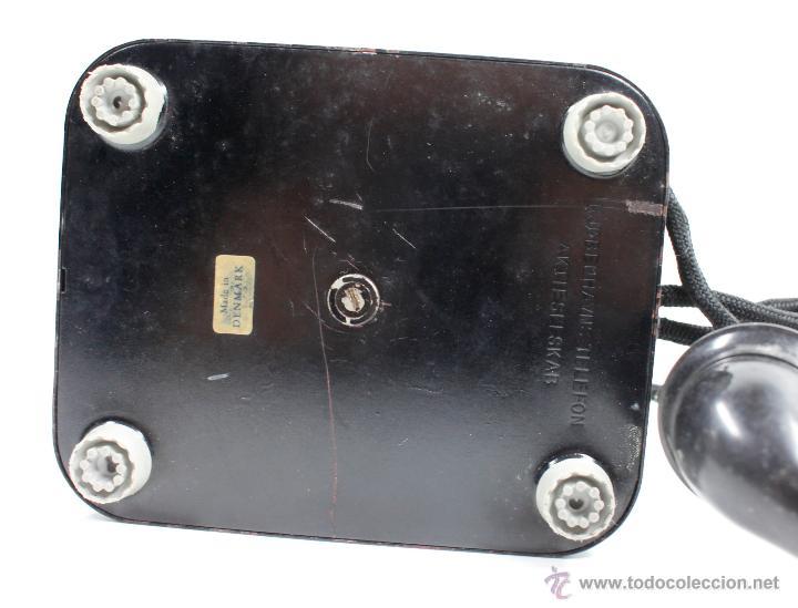 Teléfonos: Teléfono antiguo Aktieselskab Denmark Copenhagen, ver fotos anexas. - Foto 2 - 53429052
