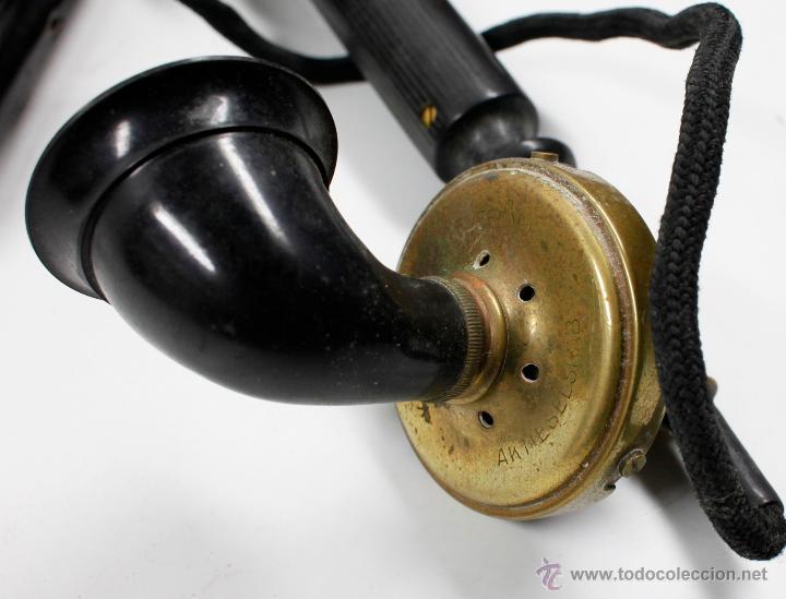 Teléfonos: Teléfono antiguo Aktieselskab Denmark Copenhagen, ver fotos anexas. - Foto 3 - 53429052