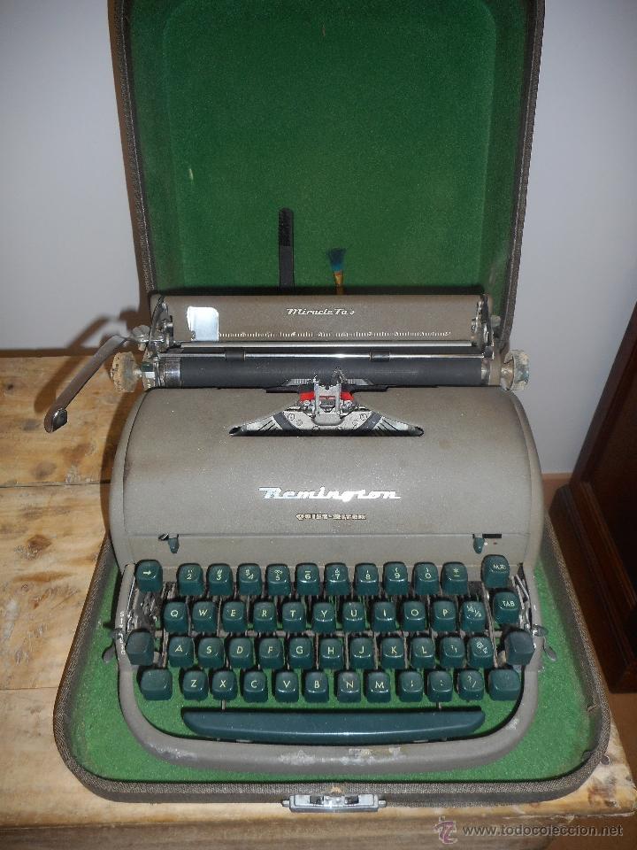 MÁQUINA ESCRIBIR REMINGTON (Antigüedades - Técnicas - Máquinas de Escribir Antiguas - Remington)