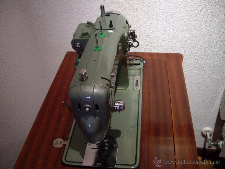 Antigüedades: MAQUINA DE COSER REFREY CL-427 - Foto 4 - 53461411
