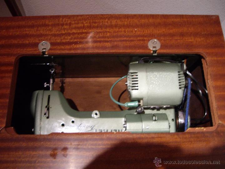 Antigüedades: MAQUINA DE COSER REFREY CL-427 - Foto 6 - 53461411