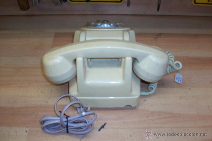 Teléfonos: ANTIGUO TELEFONO FRANCES UTILIZADO EN ARGELIA-FUNCIONA - Foto 3 - 53467234