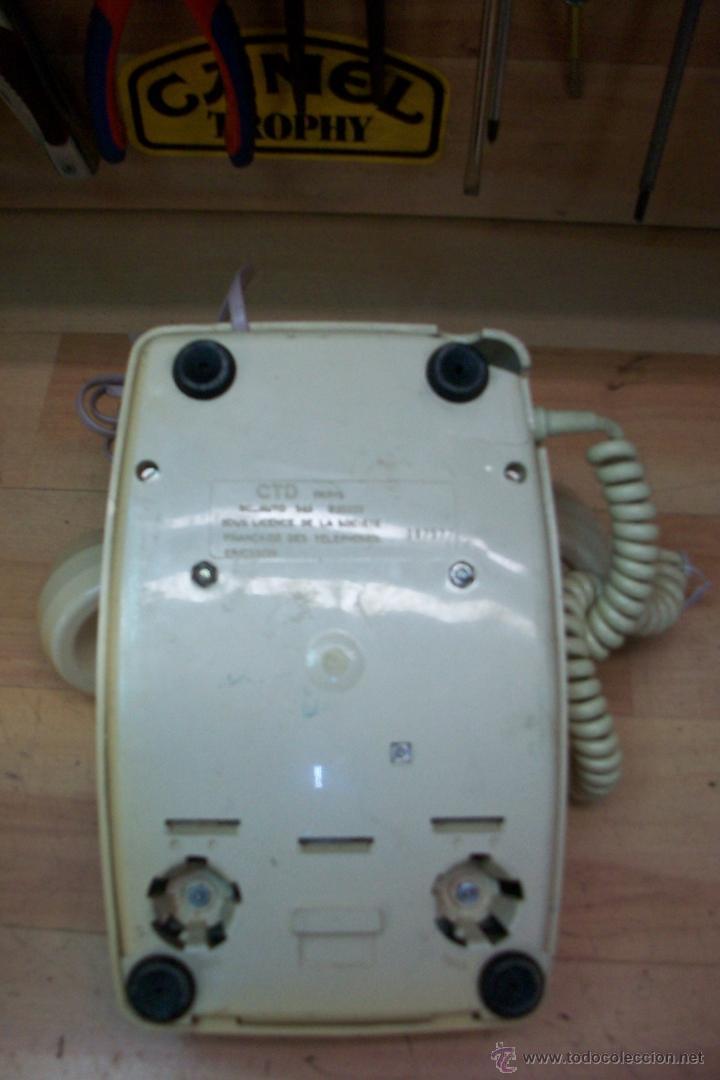 Teléfonos: ANTIGUO TELEFONO FRANCES UTILIZADO EN ARGELIA-FUNCIONA - Foto 4 - 53467234