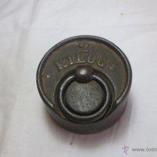 Antigüedades: PESA DE 2 KILOS CA/ 1930. Lote 53485995