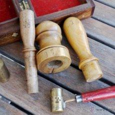 Antigüedades: RECARGADOR DE CARTUCHOS Nº 16 MADERA DE BOJ. Lote 53515062