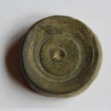 Antigüedades: FICHA DE JUEGO O PONDERAL ROMANO.. Lote 53571324
