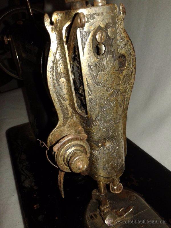 Antigüedades: MAQUINA DE COSER SINGER - Foto 2 - 53571951
