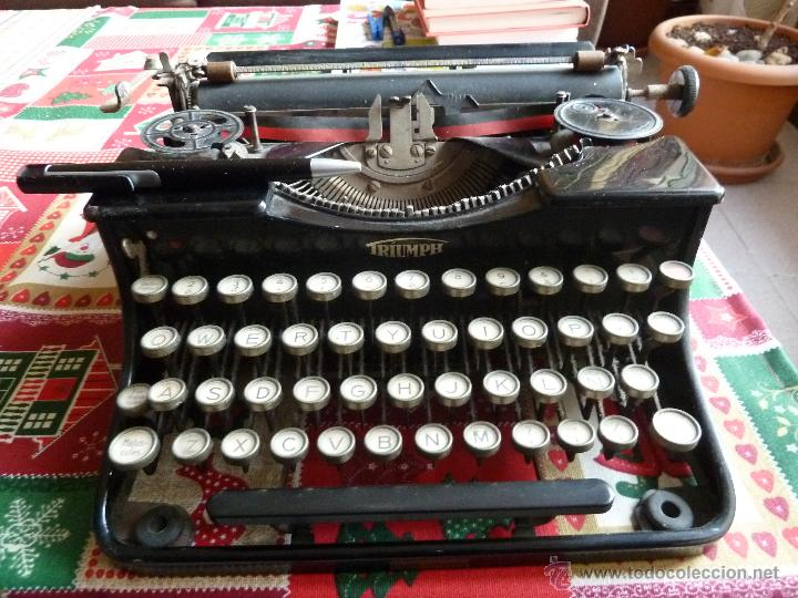 MAQUINA ANTIGUA MARCA TRUMPH (Antigüedades - Técnicas - Máquinas de Escribir Antiguas - Triumph)