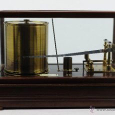 Antigüedades: BARÓGRAFO ANTIGUO SHORT & MASON LONDON BAROGRAPH. Lote 53616313