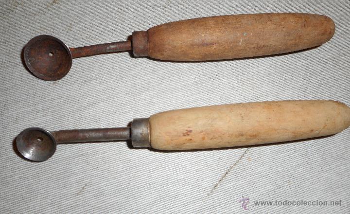 dos antiguos utensilios de cocina - Comprar Varias Antigüedades ...