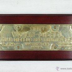 Antiquités: METOPA NAVAL GRANDE. VIVIAN DIESEL AND MUNITIONS LTD. VANCOUVER B.C. CANADA. Lote 53626522