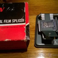 Antigüedades: ESWN UNIVERSAL FILM SPLICER SUPER 8 , REGULAR 8 & 16MM. Lote 53629968
