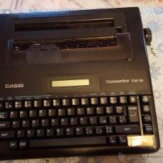 Antigüedades: MÁQUINA DE ESCRIBIR ELECTRÓNICA CASIO WRITER CW-17. Lote 53645794