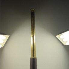 Antigüedades: TELESCOPIO. CATALEJO. LATÓN Y CUERO. FUNCIONA. COMO NUEVO. Lote 53676094