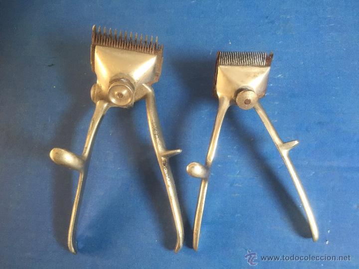 Antigüedades: curiosa y rara maquina cortar pelo alemana marca solingen mas pequeña que lo normal ?niño? - Foto 6 - 53708143