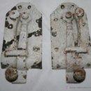 Antigüedades: JUEGO DE 2 PESTILLOS ANTIGUOS . Lote 53717241