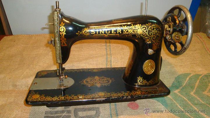 Maquina de coser singer antigua no funciona - Vendido en