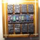 Antigüedades: IMPRENTA - CUADRO TIPOGRAFÍA REF 5 - TAMAÑO 13X12 CM.. Lote 53726650