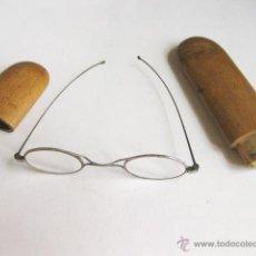 Antigüedades: GAFAS MUY ANTIGUAS EN ACERO PRINCIPIOS SIGLO XIX. . Lote 53732112