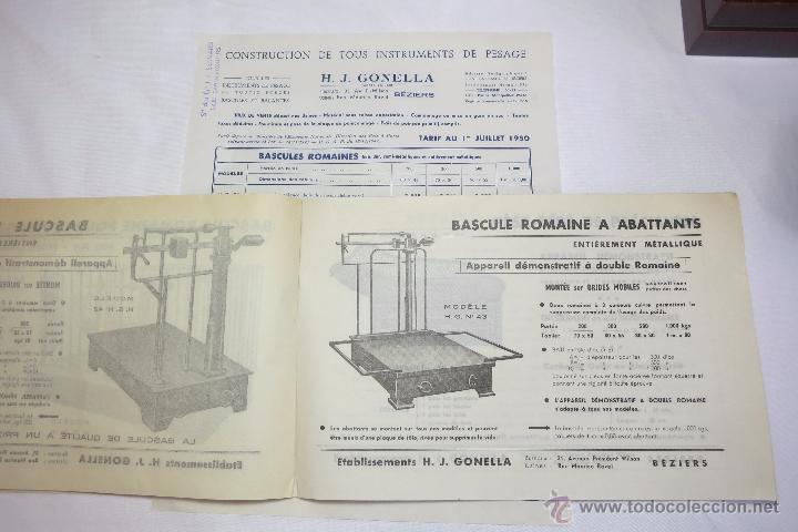 BASCULAS GONELLA CATALOGO DE 1950 (Antigüedades - Técnicas - Medidas de Peso - Básculas Antiguas)