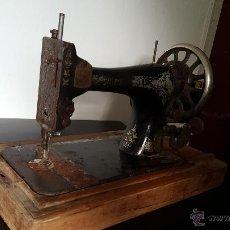 Antigüedades: MÁQUINA DE COSER SINGER. Lote 53762687