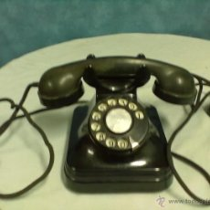 Teléfonos: TELEFONO BAQUELITA TELEFONICA. Lote 53766194