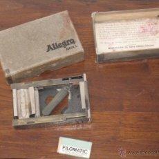 Antigüedades: AFILADOR DE CUCHILLAS ALLEGRO MODELO L. Lote 53778898