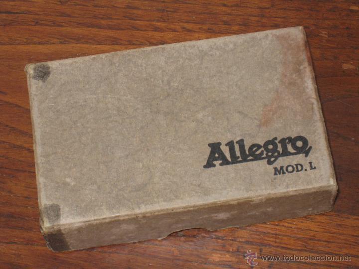 Antigüedades: AFILADOR DE CUCHILLAS ALLEGRO MODELO L - Foto 4 - 53778898