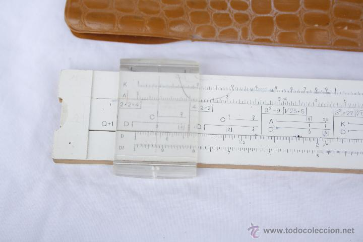 Antigüedades: Regla de cálculo - Leningrad - año 1975 en funda original. - Foto 6 - 53810709