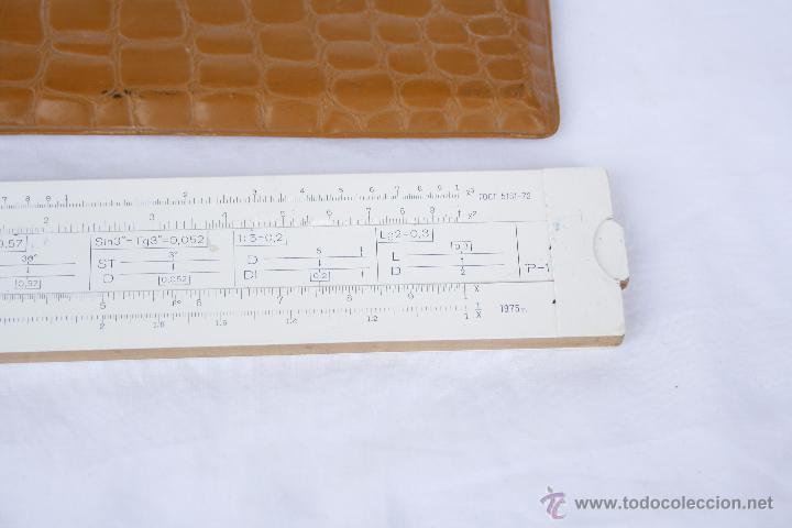 Antigüedades: Regla de cálculo - Leningrad - año 1975 en funda original. - Foto 9 - 53810709