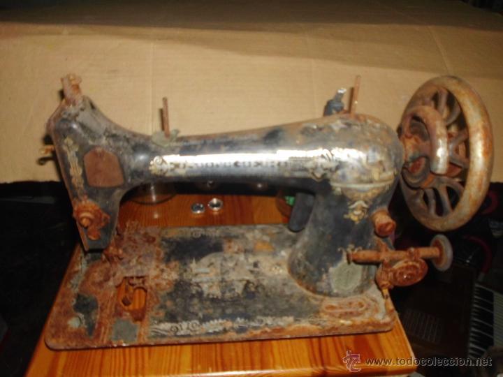 ANTIGUA MAQUINA DE COSER SINGER RESTAURAR (Antigüedades - Técnicas - Máquinas de Coser Antiguas - Singer)
