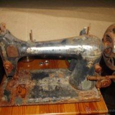 Antiquitäten - Antigua maquina de coser singer restaurar - 53815495