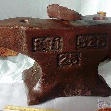Antigüedades: YUNQUE, BIGORNIA. MAESTRO HERRERO. VIEJO.. Lote 53847786
